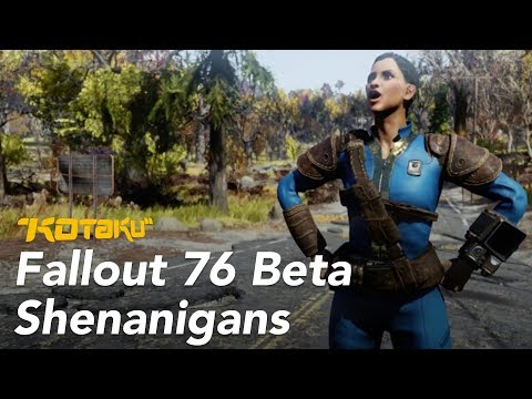 My Misadventures In Fallout 76's Buggy, Bizarre Beta