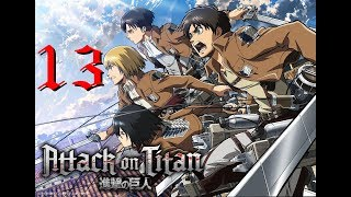 [PC GAME] Attack on titan: Wings of freedom - Full Gameplay Part 13 - 60 FPS 1080p