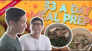 How To Meal Prep On $3 A Day | Eatbook Vlogs | EP 80