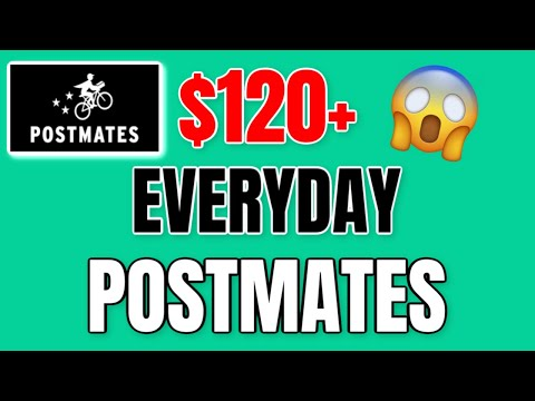 HOW TO MAKE $120+ EVERYDAY (Postmates) | Postmates Tips & Tricks 2020!