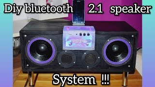D.I.Y. Bluetooth 2.1 Speaker System!!! (Using A TPA3116  Amplifier Board)
