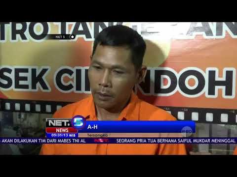 Inilah Pelaku Pembunuhan Usai Pesta Miras Tangerang-NET5