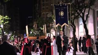 preview picture of video 'Viernes santo Ourense 2014. santo entierro'