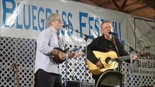 Chris Hillman & Herb Pedersen - at 2016 Delaware Valley Bluegrass Festival