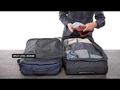 Dakine Split Roller Reisetrolley / Koffer - Top ausgestattet auf Reisen