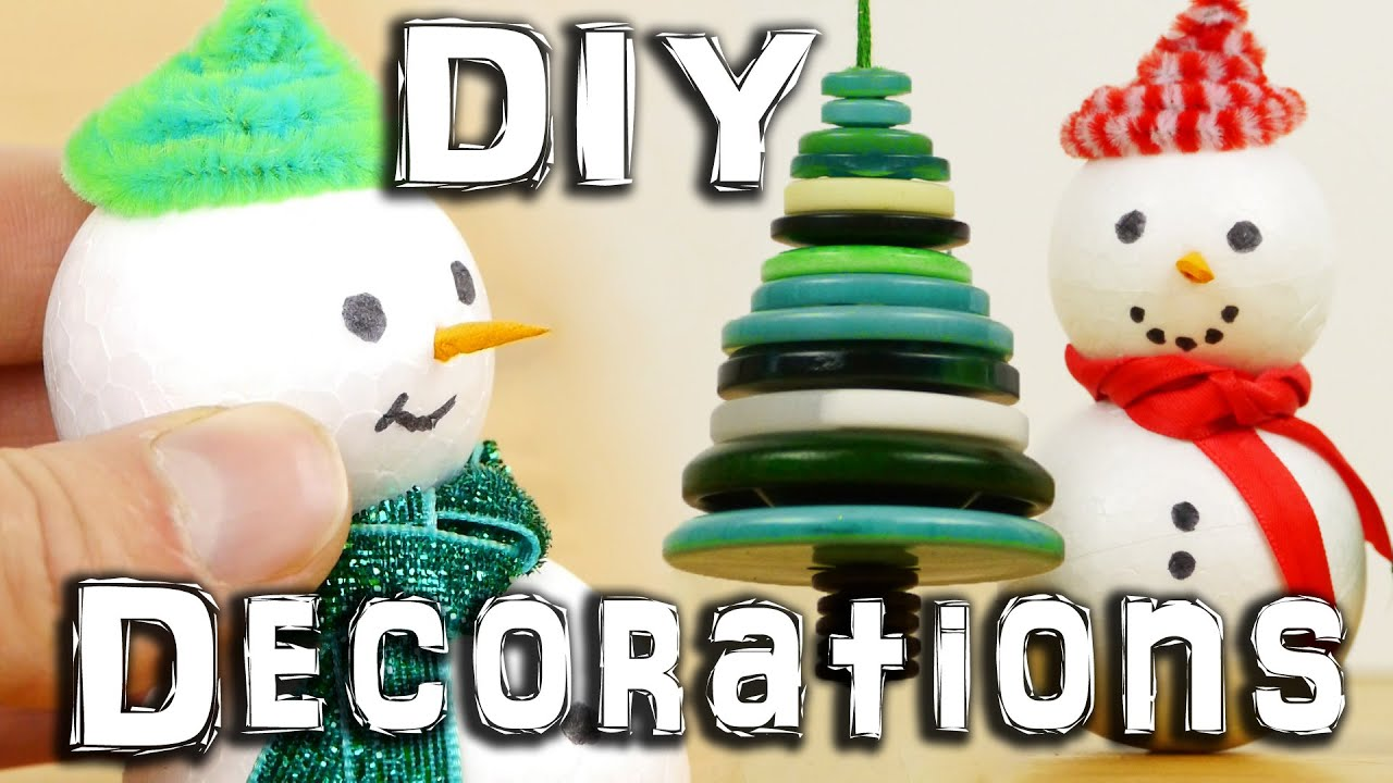 5 DIY Christmas Decorations thumbnail