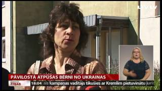 Pāvilostā atpūšas bērni no Ukrainas