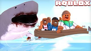 SURVIVE A SHARK ATTACK IN ROBLOX