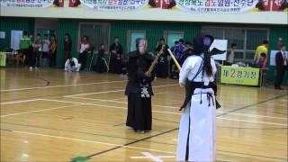 11회연합회장기국민생활체육전국검도대회-여자단체결승