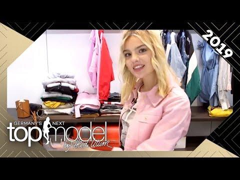 Sarah zeigt uns ihren Kleiderschrank: Was würde sie zu einem Date anziehen? | GNTM 2019 | ProSieben