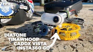 Diatone Tina Whoop + DJI Caddx Vista + Insta360Go FPV