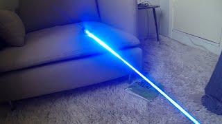 Смотреть онлайн Лазер, который режет