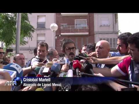 Messi se presenta a declarar por supuesto fraude fiscal