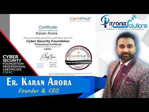Get Free Cyber Security Foundation Professional Certificate From ...