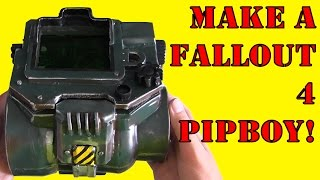 How To Make a Fallout 4 Pip-Boy (DIY)