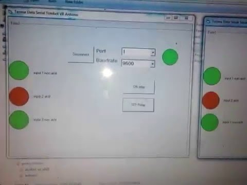 Manless parkir controller 2 input serial - usb 085743320570