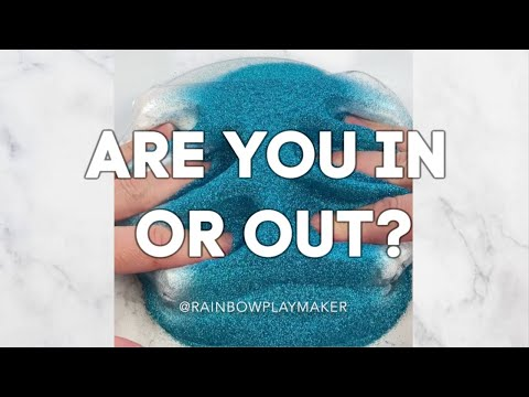 IN OR OUT SLIME GAME! YOU'RE OUT IF