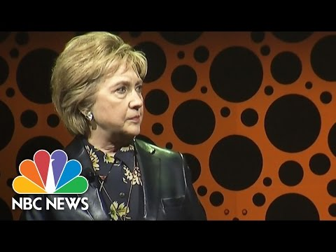 Hillary Clinton Speaks Out On Negative Comments About Maxine Waters, April Ryan | NBC News