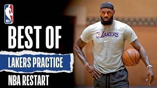 Best Of Lakers Practice | NBA Restart