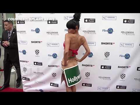 元中国人民解放軍兵士で女優の『バイ・リン』がヌード姿でハリウッド映画祭に現れ全米で笑いものに!! - おもしろメディアBOX 動画・画像 ニュースまとめ