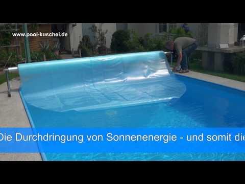 Schwimmbad Abdeckung Sunpower