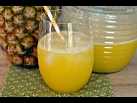 Video Recipe For Pineapple Juice - How To Make Pineapple Juice - SyS
