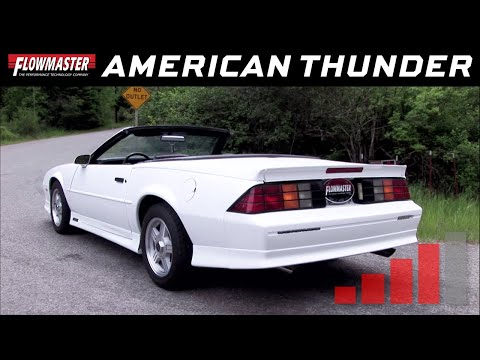 1986-91 Camaro SS, Firebird 5.0L, 5.7L - American Thunder Cat-Back Exhaust System 17234
