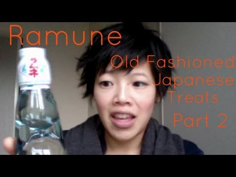 Drinking Ramune & Old Fashioned Japanese Treats Pt. 2 – Whatcha Eating? #47
