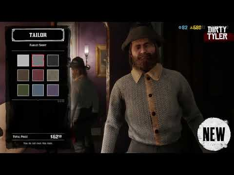 Red Dead Online Catalogue Update (Male & Female) November 12th