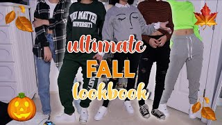 10 Fall Outfits *That Are In Dresscode* | 2019 Fall Lookbook | Aliyah Simone