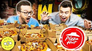 Spróbowaliśmy WSZYSTKIEGO z Pizza Hut