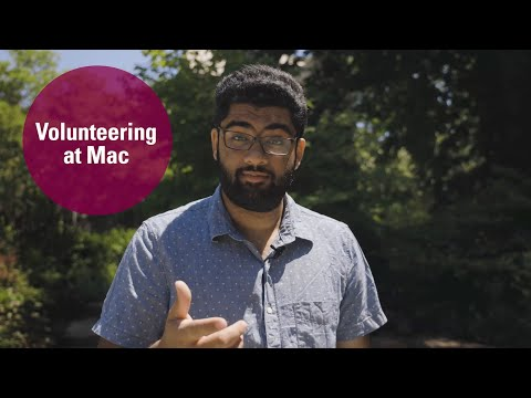 Watch Everything to know about volunteering at Mac on Youtube.
