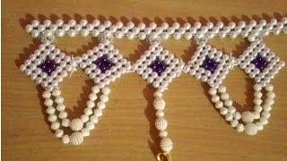 Pearl Beaded Toran Design