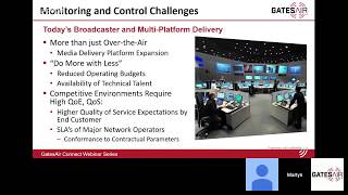 Quality Monitoring for TV Transmission | GatesAir Connect Webinar