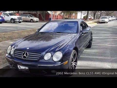 Mercedes Benz CL55 AMG on 20 Inch Wheels.. Walkaround, Start Up and Rev
