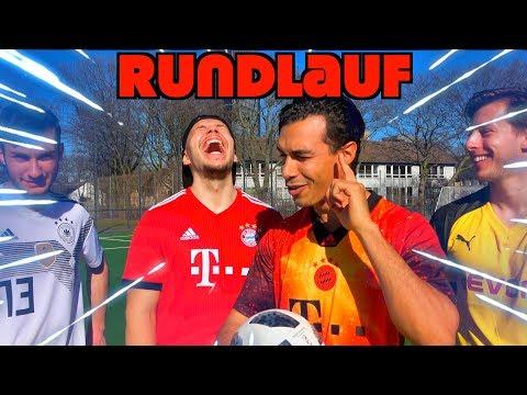 RUNDLAUF FUßBALL⚽ CHALLENGE | EXTREM