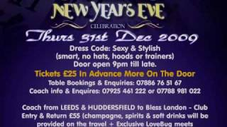 THE ULTIMATE NEW YEARS EVE PARTY 2009-2010@ BLESS BAR WEST EAILING, LONDON