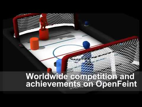 Video of Table Hockey HD