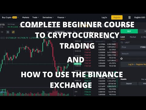 COMPLETE BEGINNER COURSE TO CRYPTOCURRENCY TRADING; All you need to know to start trading.