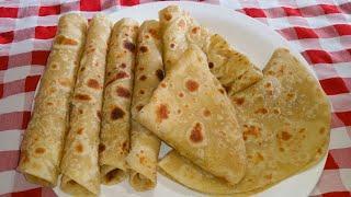 Jinsi ya kupika chapati laini za kusukuma bila kukanda sana   How to make soft chapati
