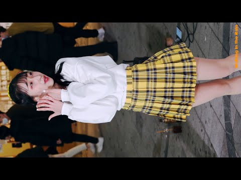 여성댄스팀 투유(To You)(근영) - love4eva_이달의 소녀 (홍대거리버스킹)(직캠)