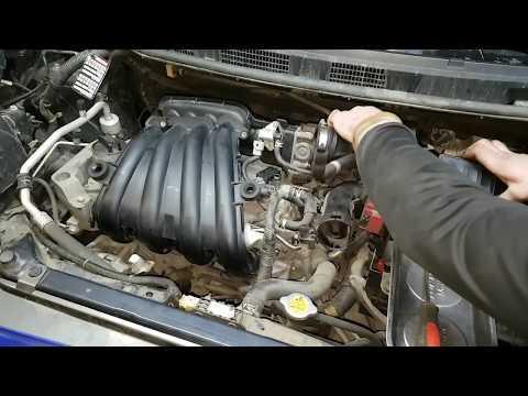 Фото к видео: Nissan HR16DE замена свечей