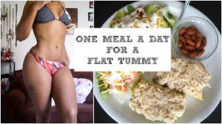What I Eat Every Day for 21 Days | My One Meal a Day for fast weight loss