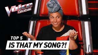 THE VOICE  BEST ALICIA KEYS Blind Auditions