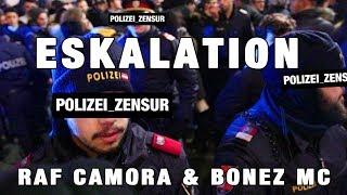 RAF Camora &  BONEZ MC   POLIZEI ESKALATION (Nike Store Eröffnung)