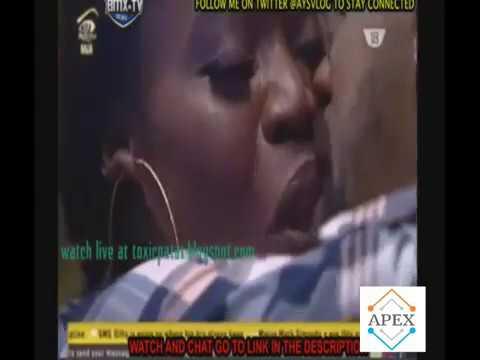 BB Naija Bisola and TTT kissing passionately