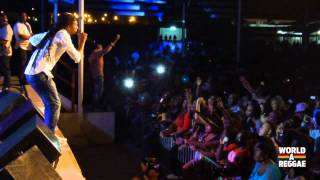 Jah Cure Live @ Flamboyant Park - Paramaribo, Suriname (5/1/2013)