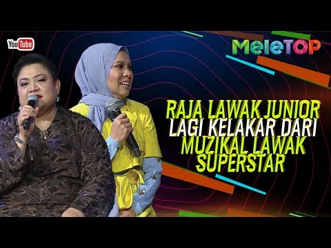 Raja Lawak Junior Lagi Kelakar Dari Muzikal Lawak Superstar | MeleTOP | Nabil & Elfarabi Faeez