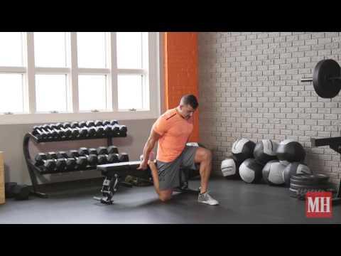 Exercise thumbnail image for Dumbbell RFE Split Squat