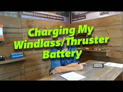 My Windlass and Thruster Battery Only Charge on Shorepower - Is This Wrong?